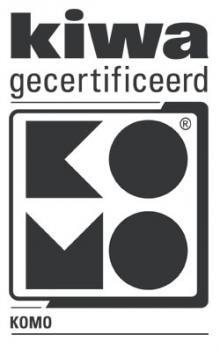 KOMO-keurmerk PVC Kolken BRL 2021