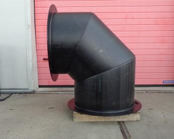 Instortkanalen voor woningbouw, ventilatiekokers
